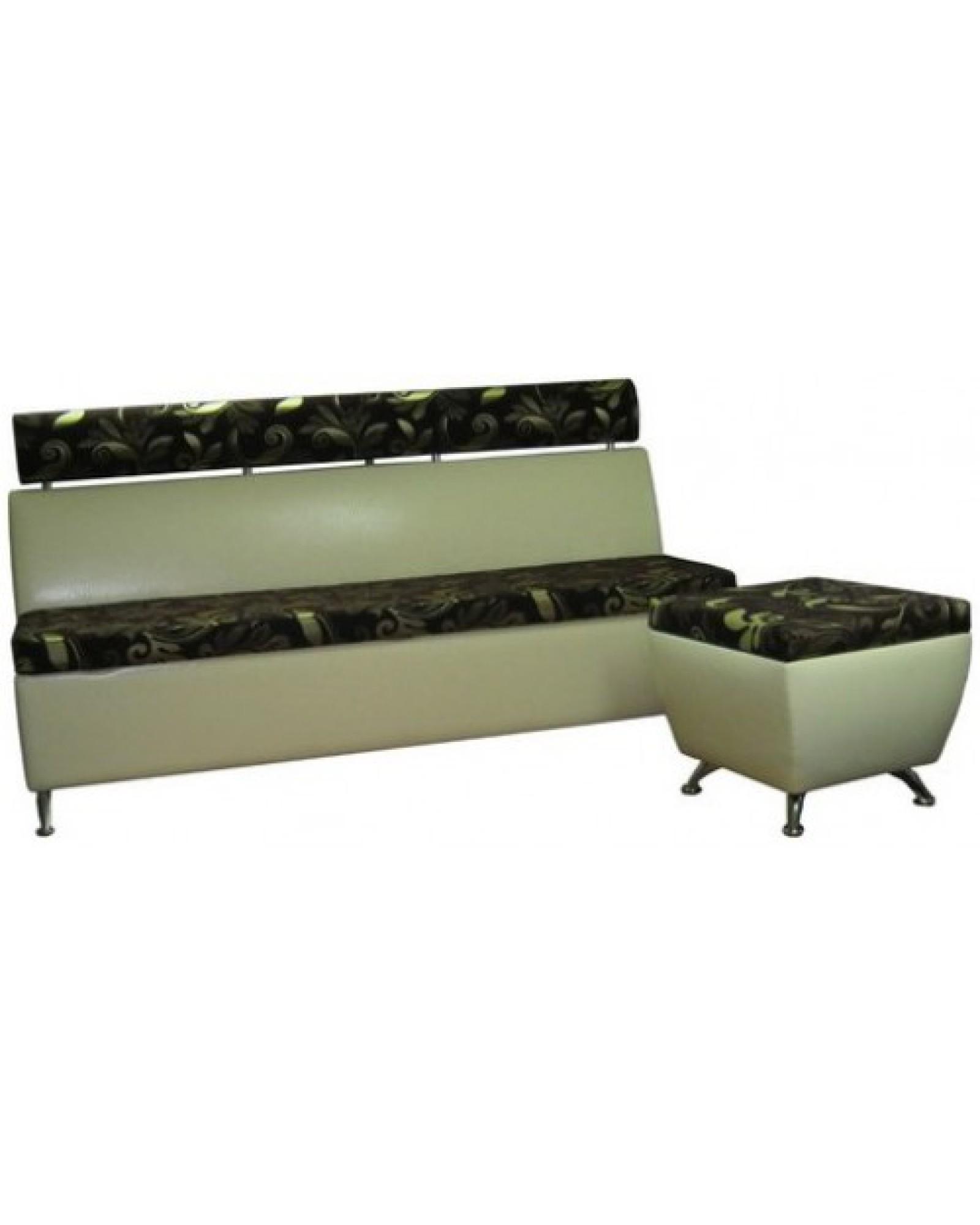 Атташе 1  кухонный диван с подголовником
